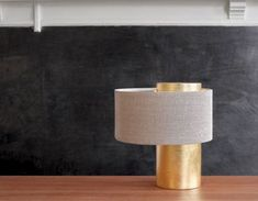 bobo lamp - lamps  A beautiful modular polished, brushed metal or ceramic table lamp in which you can set different combinations for a wide range of aesthetic effects. Ceramic Table Lamps, Brushed Metal, Lamp Shades, Ceramics, Lighting, Gold Leaf, Interiors, Beautiful, Product Design