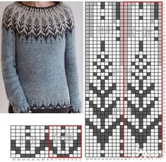 Competencies Expected For The Many Shawl Knitting Designs Online Fair Isle Knitting Patterns, Sweater Knitting Patterns, Knitting Charts, Knitting Stitches, Knitting Designs, Knit Patterns, Baby Knitting, Knitting Needles, Punto Fair Isle