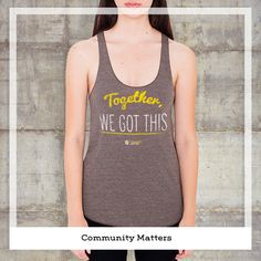 Together We Got This Tank supports Community Matters of Cincinnati