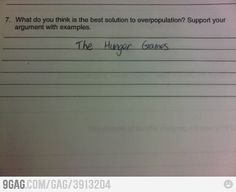 What do you think is the best solution to overpopulation?