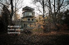 Photo reportage feat. the abandoned Soviet airfield of Sperenberg and its military barracks