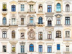 Bucharest, Romania: andre goncalves' 'windows of the world' and 'doors of the world' series highlight the culture and community of a place through architectural photography. Evora Portugal, Goncalves, Unique Architecture, Window Design, Windows And Doors, Around The Worlds, Exterior, House Design, House Styles