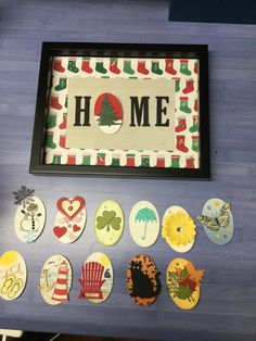 Paper Wall Art, Handmade Christmas Gifts, Home Gifts, Ladder, Framed Art, Stamping, Card Ideas, Projects To Try, Frames
