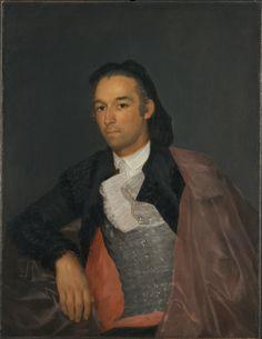 Francisco de Goya | Retrato del matador Pedro Romero (Portrait of the Matador Pedro Romero)