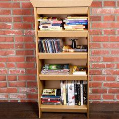 smart dresser by SmartDeco:    lightweight, eco-friendly furniture that folds into dresser/bookshelf