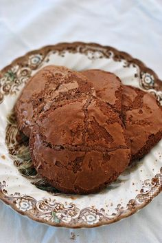 Glu-Fri recetas sin gluten y mas ricette senza glutine Almond Cookies, Chocolate Chip Cookies, Gluten Free Cakes, Gluten Free Recipes, Vegetarian Recipes, Recipe Without Flour, Chocolate Sin Gluten, Donuts, Eggless Baking