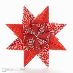 Origami Mandala Carla by Maria Sinayskaya   Go Origami!