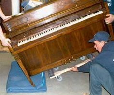 Piano Moving Techniques. DIY Piano Moving Instruction