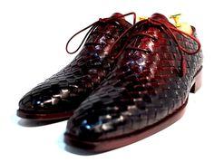 Handmade men shoes scarpe SS 2015 Spring Oscar William(handwoven William)zilli