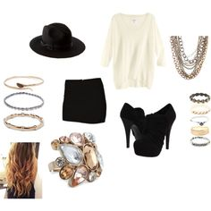 mixed metals,   created by sarahflo87 on Polyvore