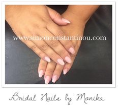 What do you think of these pretty Bridal nails? We think they are so pretty and perfect for any bride!   Monika gave this lady Acrylic Nail Extensions and finished with a 'Bubble Bath' pink OPIgelcolor polish and a subtle diamante to select nails. A full list of services can be found here: http://ift.tt/2x9Q8wV Book your next nail appointment with Monika  call 02920461191 O.Constantinou & Sons. 99 Crwys Rd Cardiff. CF24 4NF #simonconstantinou #beauty #nailsalon #cardiff #bride #shellac…