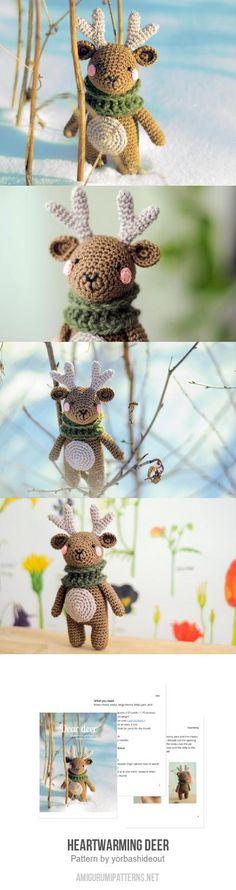 Heartwarming Deer Amigurumi Pattern