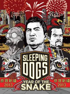Beautiful Sleeping Dogs artwork uploaded by IGC - Year of the Snake - Poster Sleeping Dogs Game, Gangster S, Ninja Art, Year Of The Snake, Dog Artwork, Sandbox, Video Game Art, Hd Desktop, Cartoon