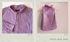 Little Grey Line transforms beloved (and usually well-worn!) button-down shirts into sophisticated yet playful dresses for girls. Made in Raleigh, NC. www.littlegreyline.com #littlegreyline #upcycled #girlsdress #madeinthesouth #handmade #classic #dressshirt #heirloom #adorable #sentimental