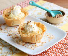 Two-Bite Coconut Cream Pies @DessertForTwo