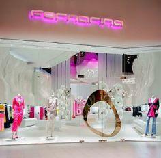 Front entrance door of Fornarina Fashion Store - Las Vegas