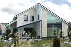 Лучший 210+ Фото Красивых домов из кирпича (одноэтажные/двухэтажные). Облицовка фасадов своими руками