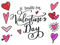valentines valentine easy doodles drawing simple amylattacreations