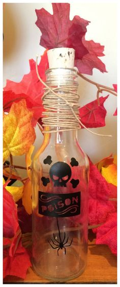 Jar of Poison Halloween Decoration Jars, Halloween decorations and - halloween decoration images