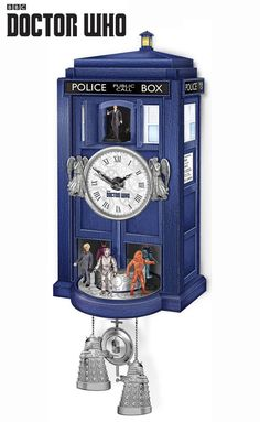 In his many adventures, the Doctor has to manage time, space and relative dimensions: luckily though, those of us on Earth just need to manage our time… Shame you can't get this with your choice of doctor - ten is my fave!!!