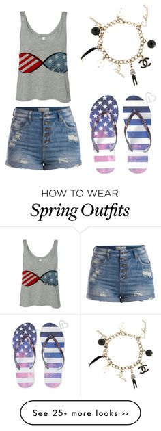 """4th of July outfit"" by linpro on Polyvore"
