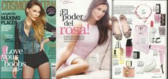 La #revista #COSMOPOLITAN de #MEXICO, le brinda un espacio a la pulsera que diseñó  #MiguelAngelLeal por la lucha contra el #cancerdemama #lazo #rosa #mujer