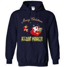 ACCOUNT MANAGER MERRY CHRISTMAS T Shirt, Hoodie, Sweatshirts - personalized t shirts #teeshirt #style