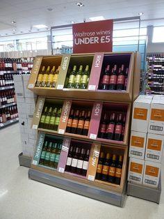 Flavorful Vino Displays : store display