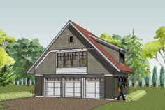 Shopdominium on pinterest garage plans steel buildings for Garage with living quarters above