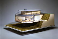 Paul Laszlo, model for the Laszlo house, 1937 -- from Architecture & Design Collections | Art Museum - UC Santa Barbara