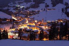 Saalbach_bei_Nacht | #Weihnachtsideen