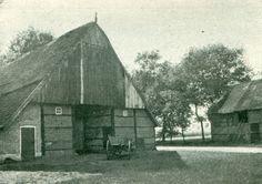 Boerenhuis achter Geesteren aan den weg naar Tubbergen - foto uit 1917