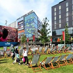 Wembley park, Deck Chairs and Wimbledon! What a winning combination 🎾🎾www.anywheredeckchairs.co.uk