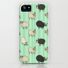 Sheep iPhone Case by Sheena Hisiro - $35.00