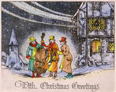 19 Vintage Christmas Cards That Make Us Feel Nostalgic - GoodHousekeeping.com