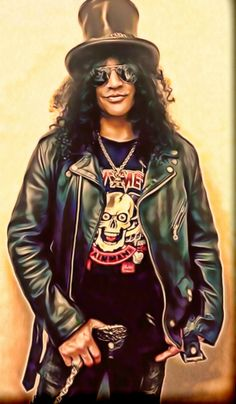 Slash from Guns n Roses by petnick on @DeviantArt