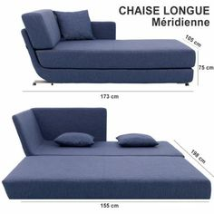 Chaiselongue cama matrimonial #mueble_multifuncional #multifunctional_furniture