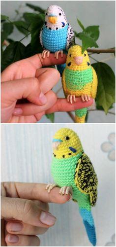 Crochet bird patterns easy diy video little fox free crochet patterns Crochet Bird Patterns, Crochet Birds, Crochet Patterns For Beginners, Cute Crochet, Crochet Animals, Crochet Crafts, Yarn Crafts, Crochet Yarn, Knitting Patterns