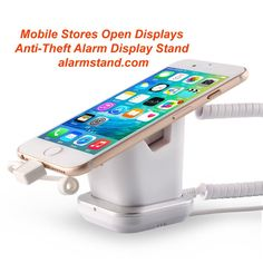 www.alarmstand.com, Telecom Mobile Phone Stores Anti-Theft Alarm Display Stands Tablet Secur...