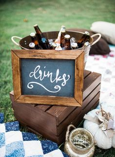 This plaid-ed out get together is the perfect backyard fall campfire party complete with dinner, an outdoor movie/popcorn station, and s'mores! Backyard Party Decorations, Backyard Birthday Parties, Outdoor Birthday, Table Decorations, Food Trucks, Sunset Party, Dinner Party Outfits, Outdoor Dinner Parties, Backyard Movie Nights
