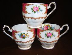 Royal Albert Lady Carlyle  Footed Mugs or Large Cups