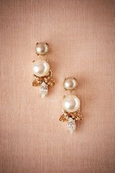Milandes Pearl Drops from BHLDN