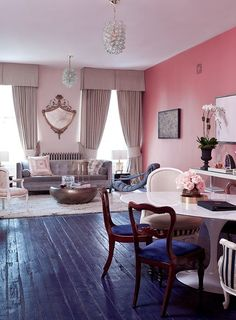 A gorgeous, pink studio tour you can't unsee