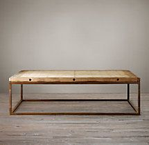 Brickmaker's Table | Coffee Tables | Restoration Hardware