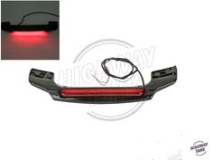 104.84$  Buy now - http://ali4a5.worldwells.pw/go.php?t=32788140540 - Red LED Tail Light Spoiler Motorcycle Rear Light case for Harley Touring Electra Glide Chopped King Tour Pak free shipping 104.84$