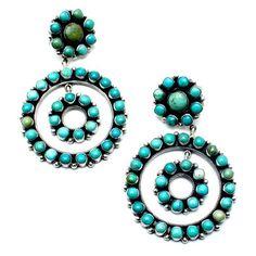 Dreamer Navajo Turquoise Earrings - Child of Wild
