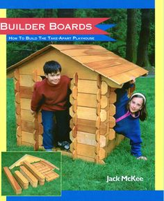 builder boards paper back book cover by jack mckee