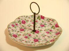 Vintage Lefton China Bon Bon Dish by BountifulGoods on Etsy, $15.00