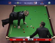 Mark Allen v Mark Davis Pink Spot Incident QF 2015 Shanghai Masters