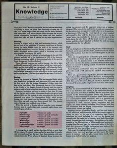 Knowledge Magazine NO130 American Railways Robert Koch Tibetans Alchemy 1965   eBay